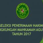 Seleksi Penerimaan Hakim 2017