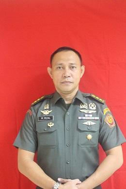 Letkol Chk M. Rizal, S.H., M.H.