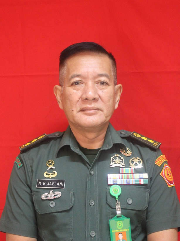 Letkol Chk Rachmat Jaelani, S.H.